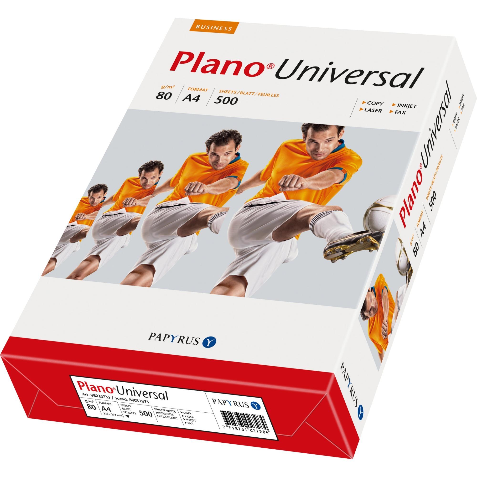 Plano Universal 88026735, Papel