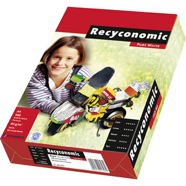 Recyconomic Pure Mate papel para impresora de inyección de tinta