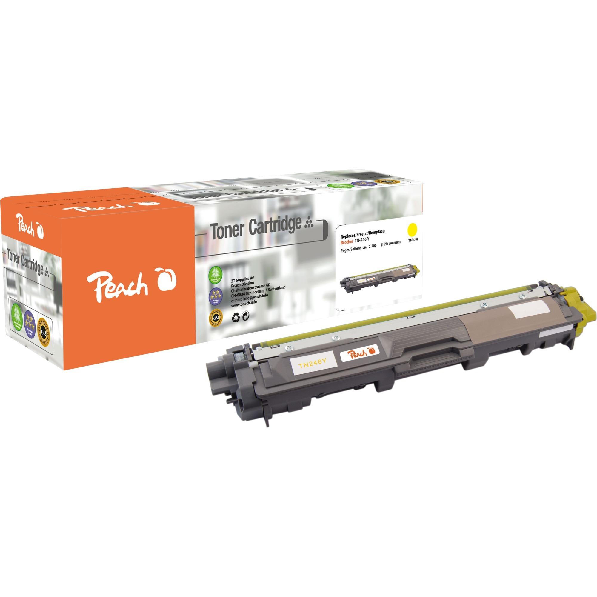 0F111928 Tóner de láser 2200páginas Amarillo tóner y cartucho láser