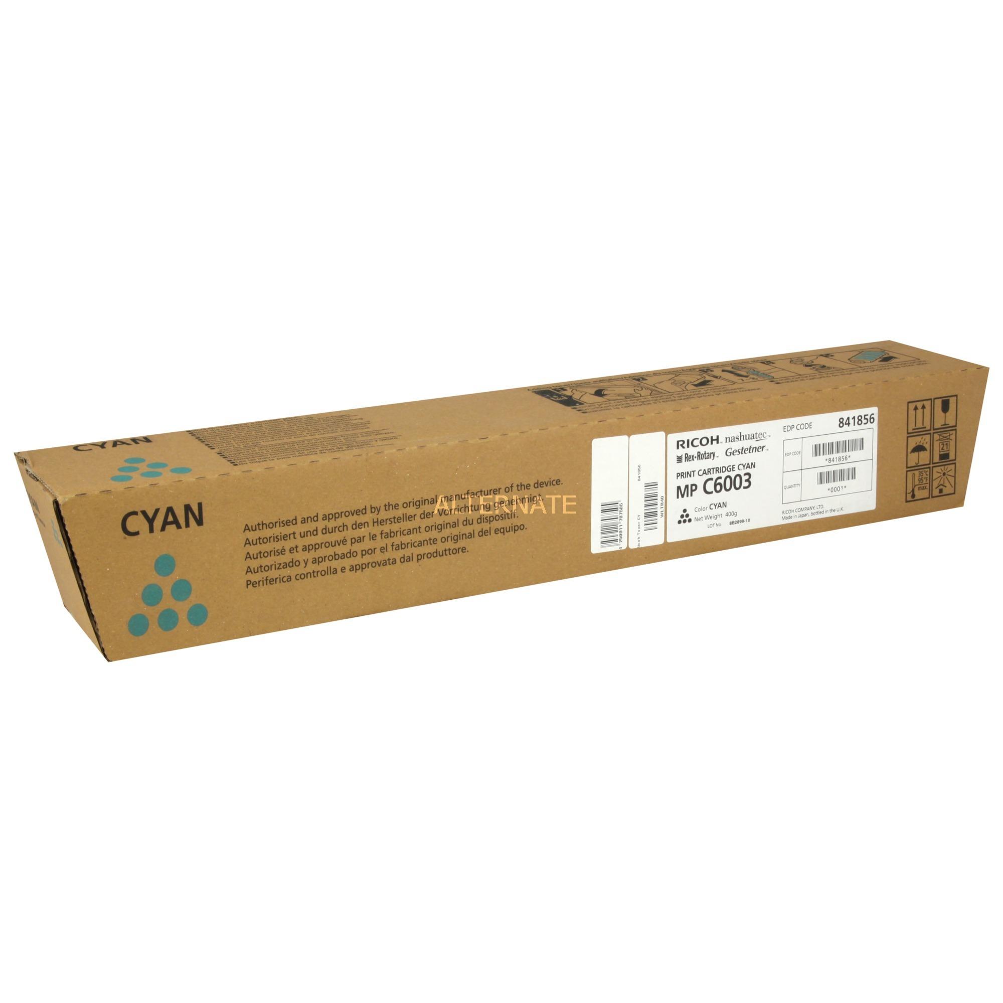 841856 cartucho de tóner Original Cian 1 pieza(s)