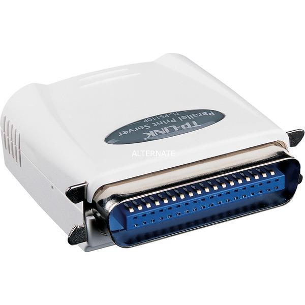Single Parallel Port Fast Ethernet Print Server servidor de impresión LAN Ethernet