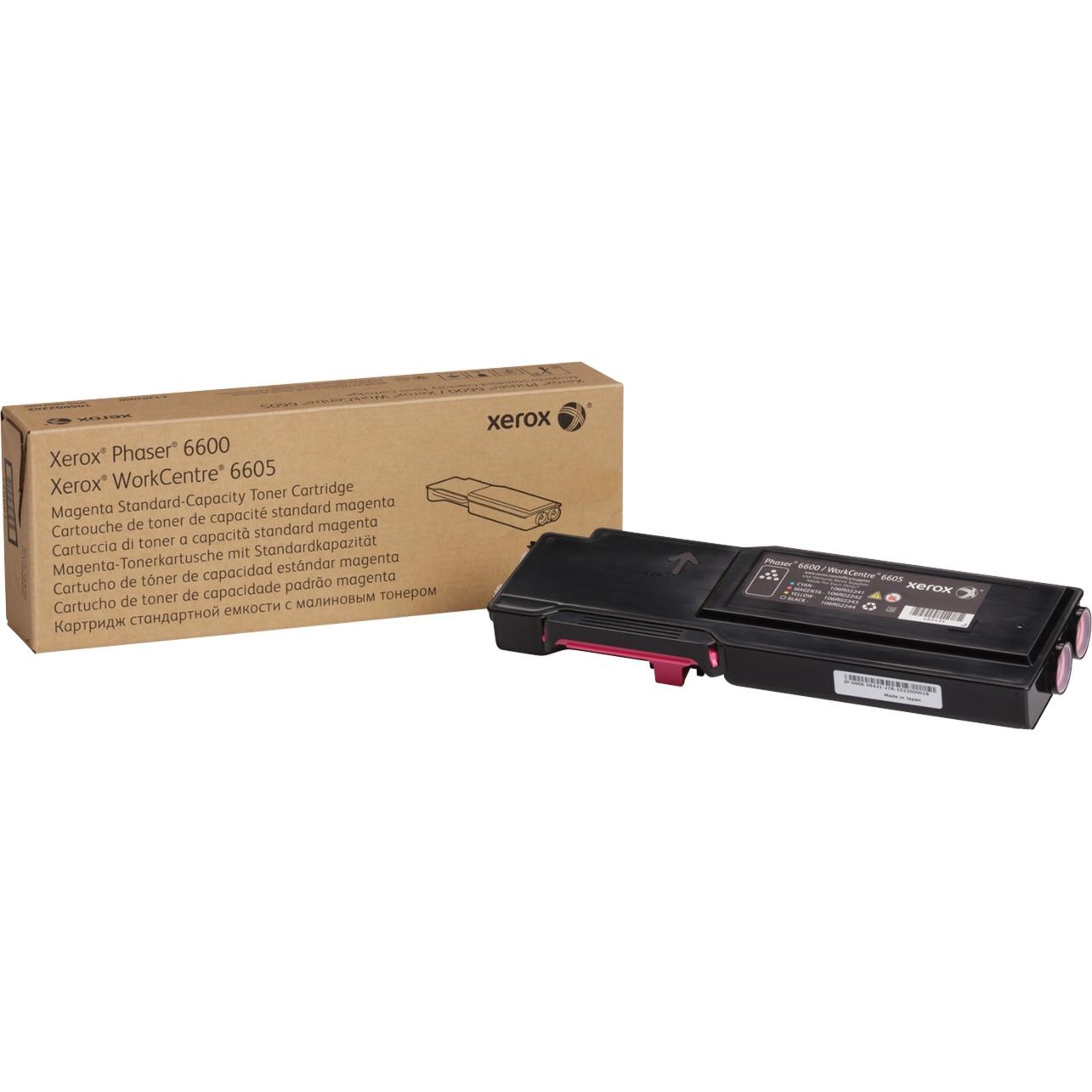 Cartucho de tóner magenta de capacidad normal para Phaser 6600/WorkCentre 6605 (2000 páginas)