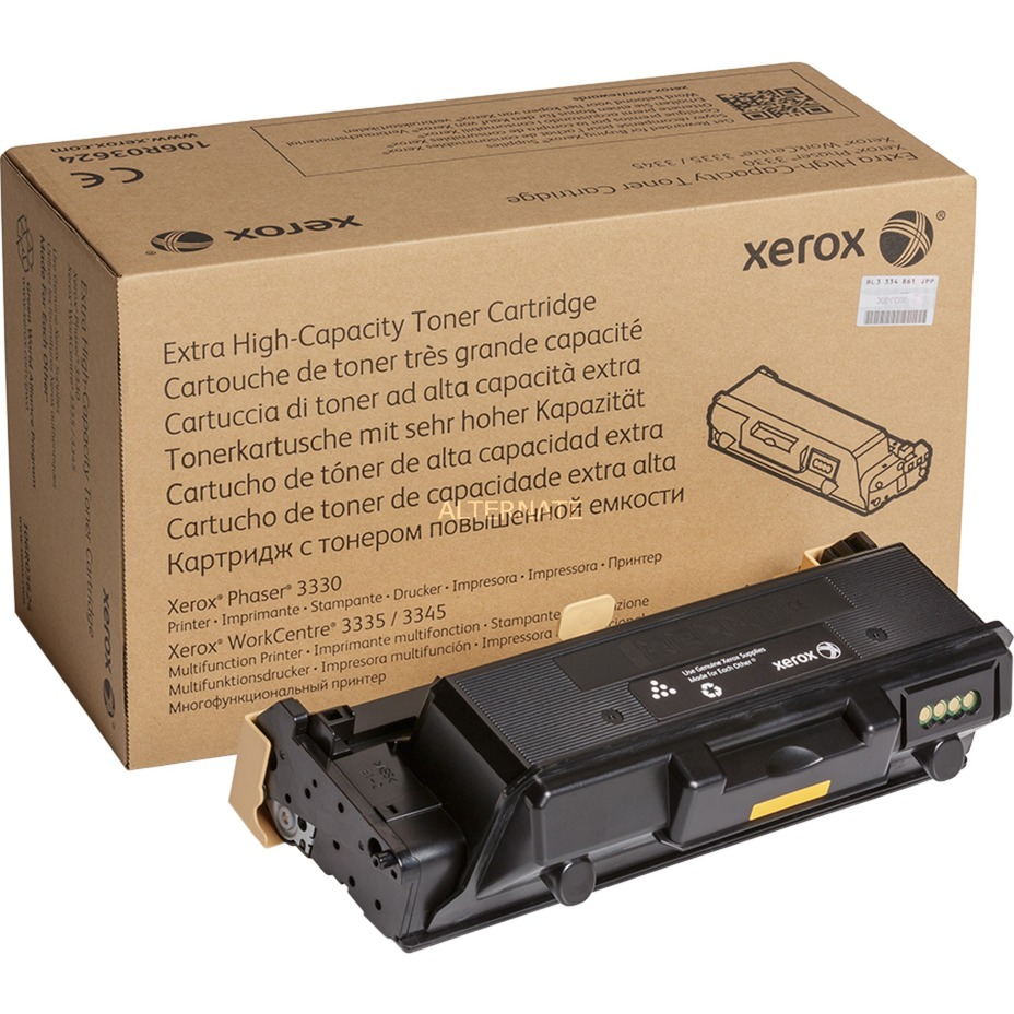 Phaser 3330 WorkCentre 3335/3345 Cartucho tóner NEGRO alta capacidad extra (15000 páginas)