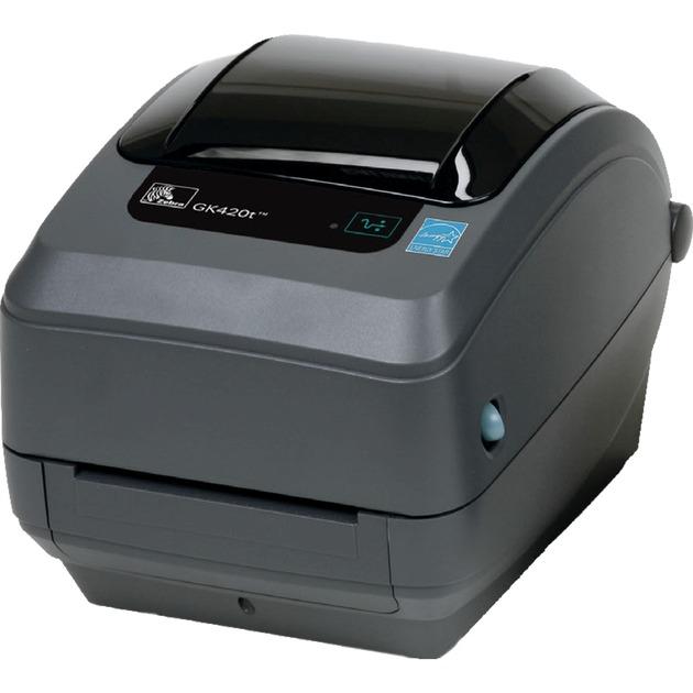 GK420t impresora de etiquetas Térmica directa / transferencia térmica 203 x 203 DPI Alámbrico