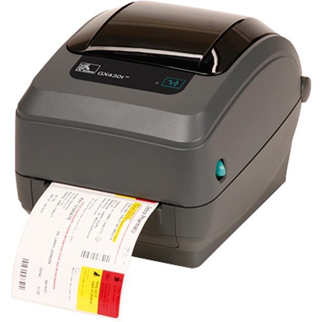 GX430t impresora de etiquetas Térmica directa / transferencia térmica 300 x 300 DPI Alámbrico