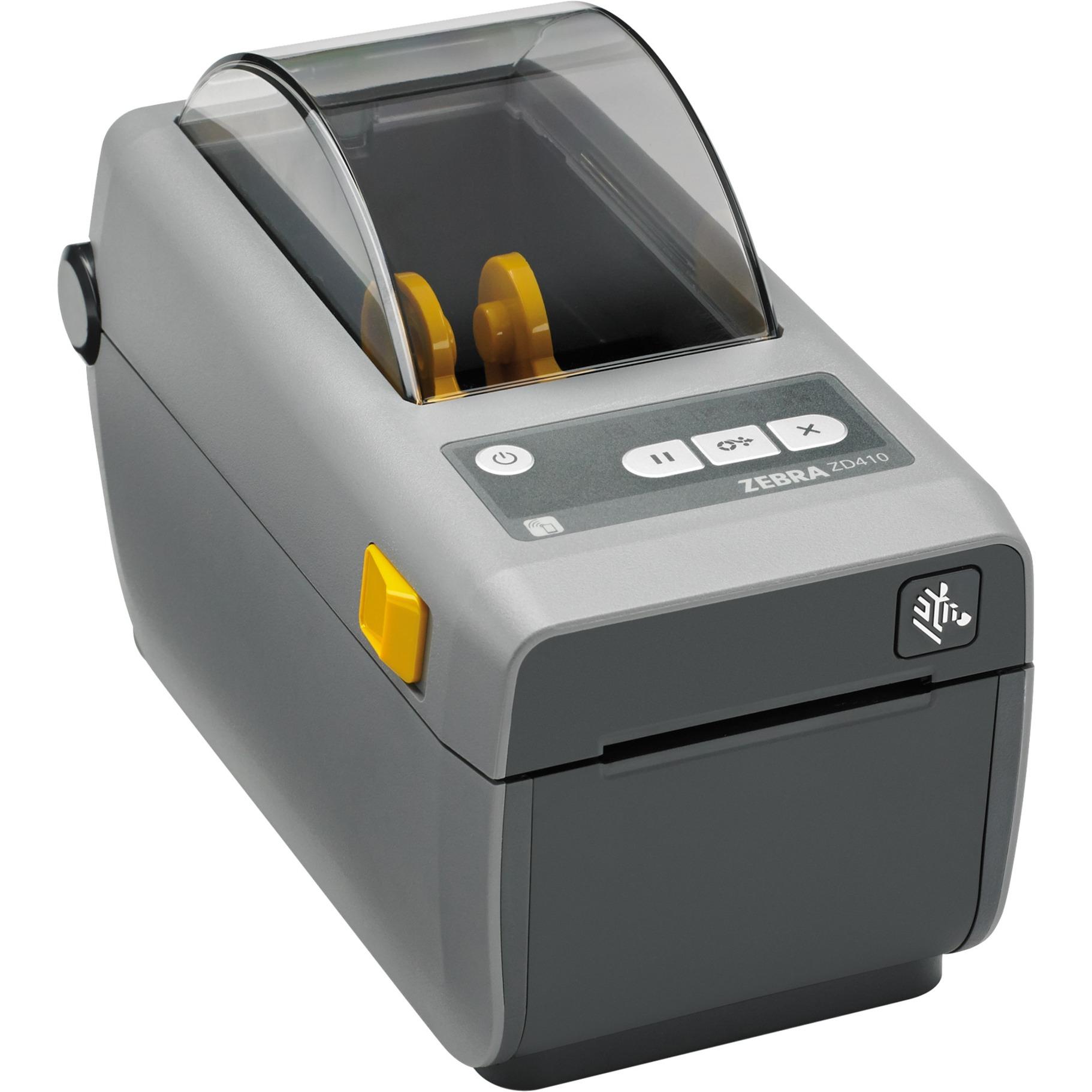 ZD410 impresora de etiquetas Térmica directa 203 x 203 DPI Inalámbrico y alámbrico, Impresora de tickets