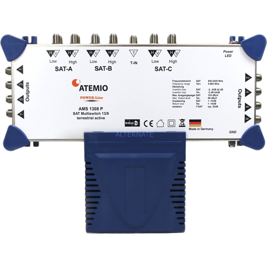 AMS1308P, Interruptor múltiple