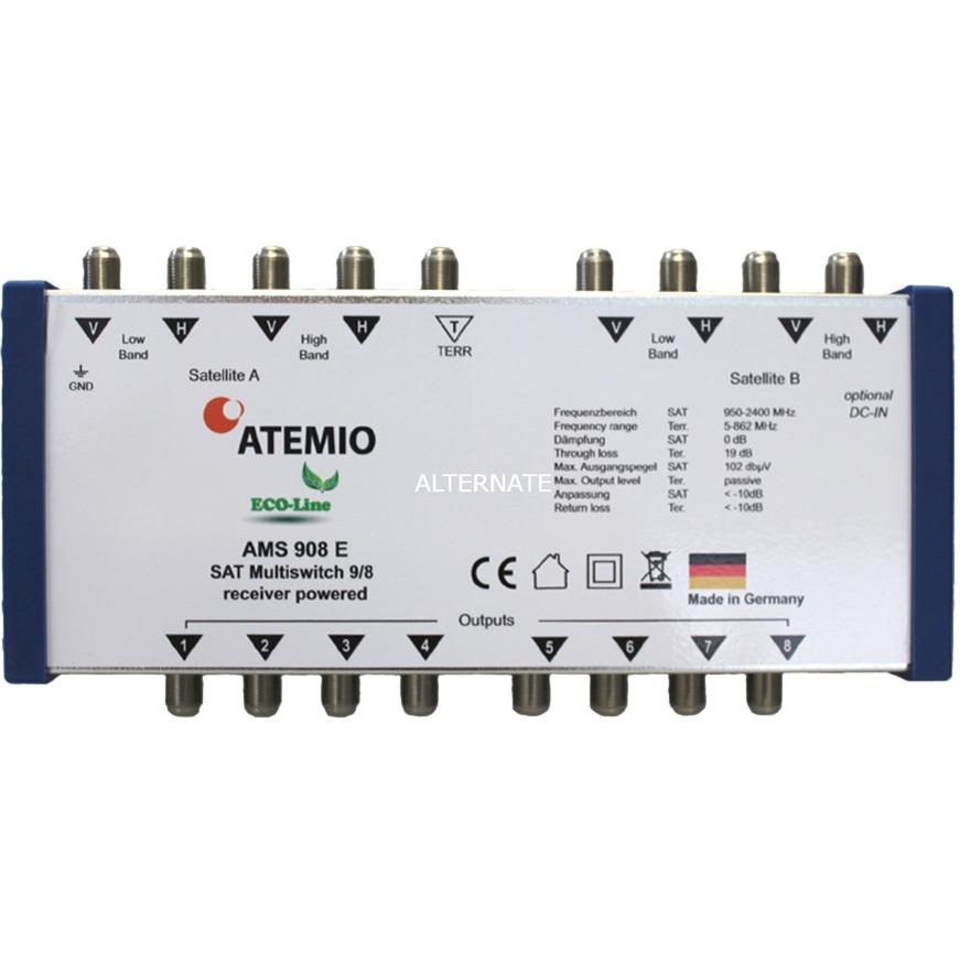 AMS908E Eco-Line 9/8, Interruptor múltiple