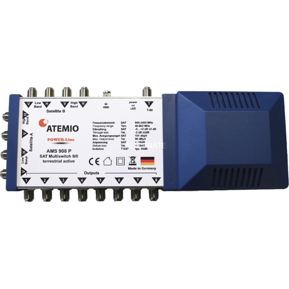 AMS908P, Interruptor múltiple