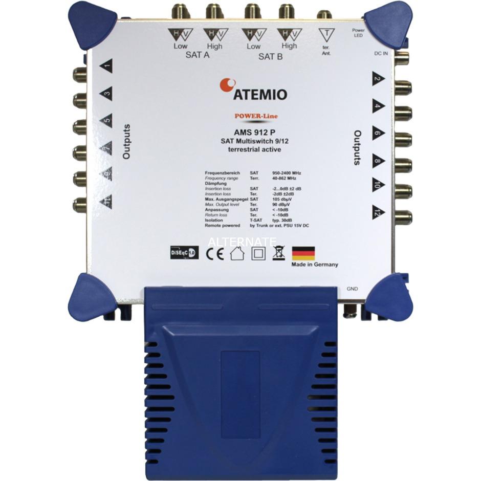 AMS912P, Interruptor múltiple