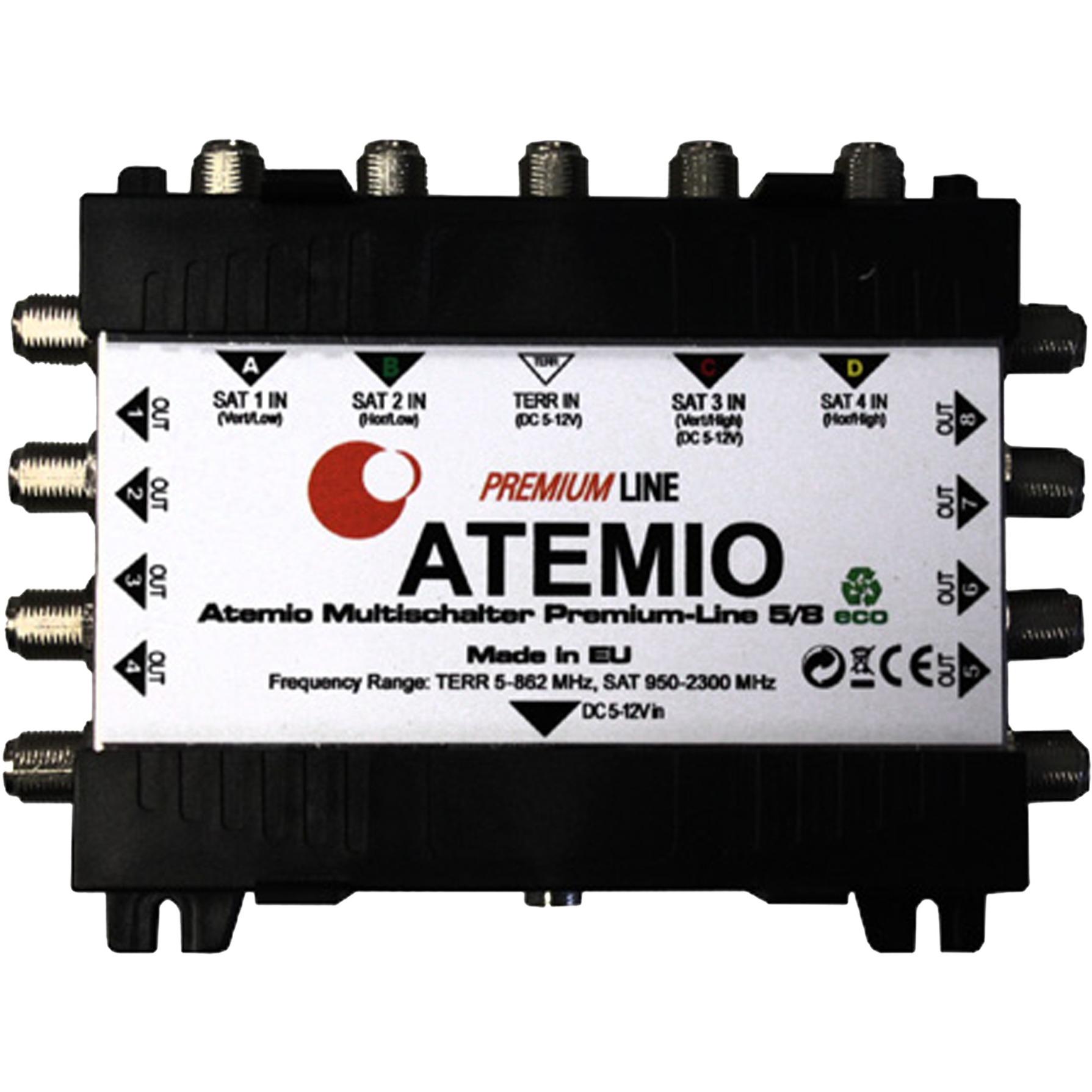 Premium-Line 5/8 eco, Interruptor múltiple