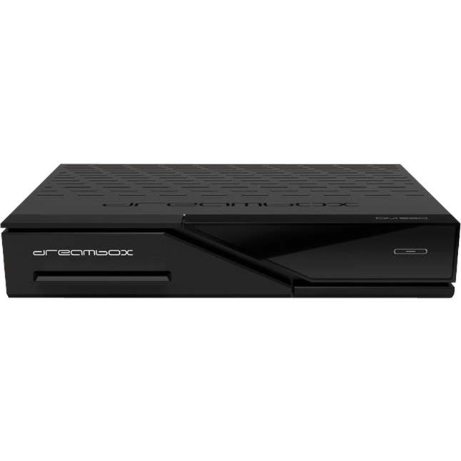 DM520 S2 tV set-top boxes Cable, Ethernet (RJ-45) Alta Definición Total Negro, Receptor terrestre/ vía cable/satélite