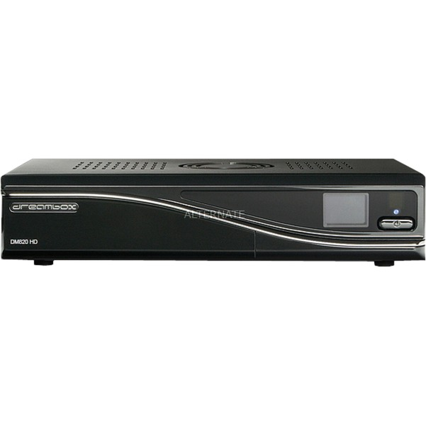 DM820 HD Satélite Negro tV set-top boxes, Receptor de satélite