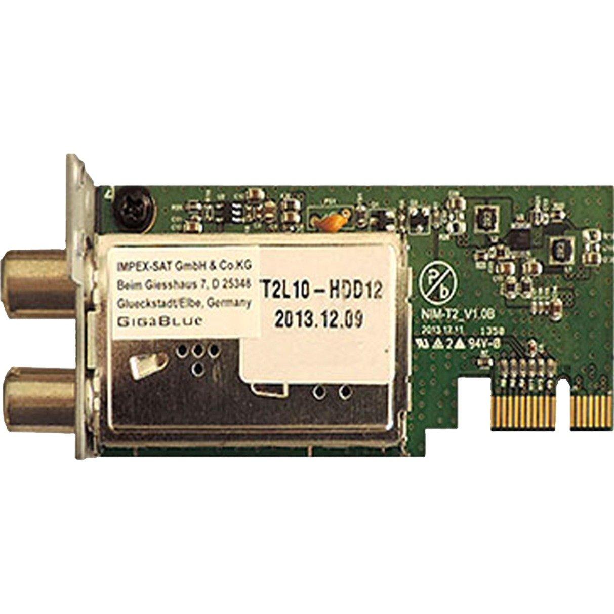 DVB-C/T2 Hybrid Tuner