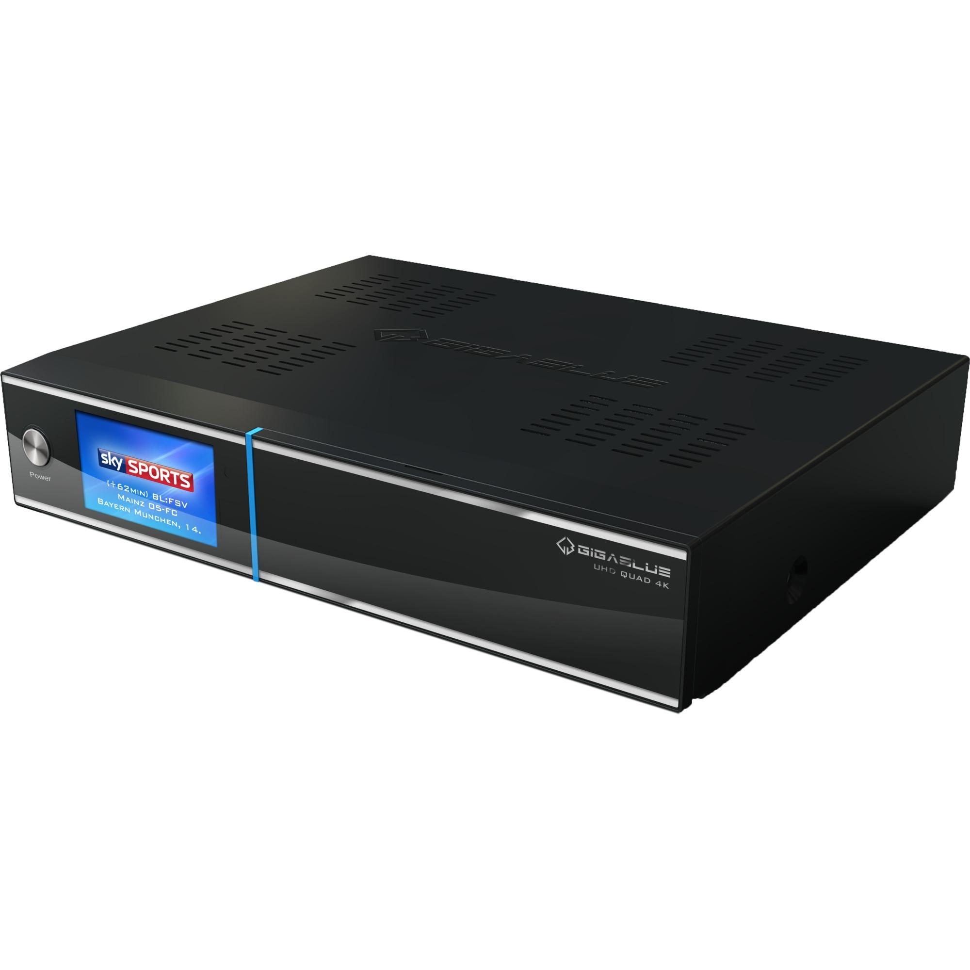 UHD Quad 4K receptor AV, Receptor terrestre/ vía cable/satélite