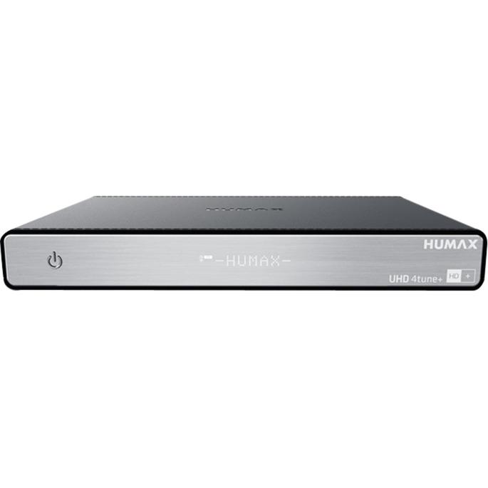 UHD 4tune + IPTV Alta Definición Total Negro tV set-top boxes, Receptor de satélite