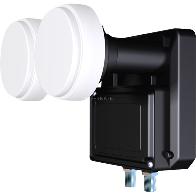 IDLB-TWNM21-MNOO6-8PP 10.7 - 11.7GHz Negro convertidor low noise block (lnb)