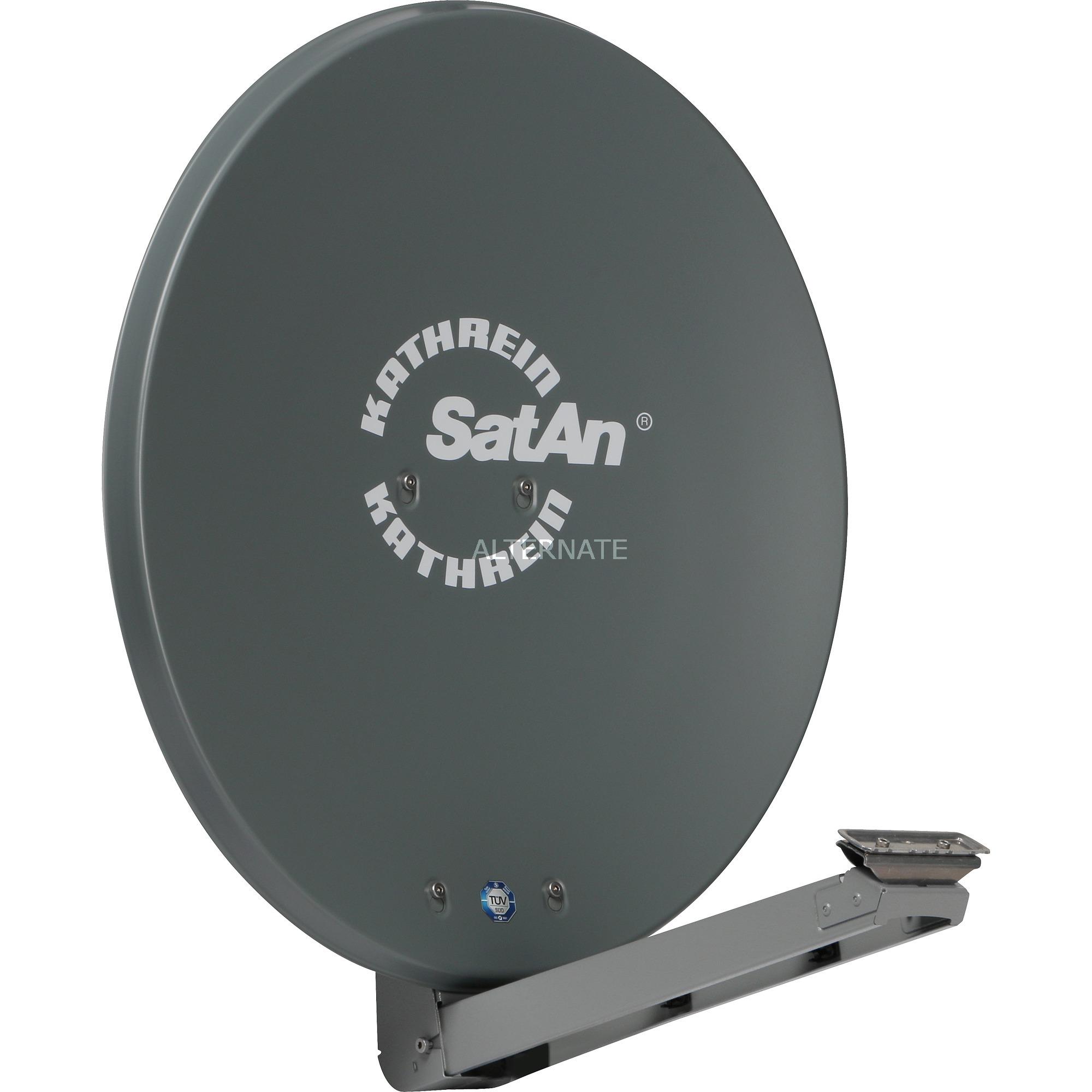 CAS 80gr antena de satélite Grafito, Antena parabólica