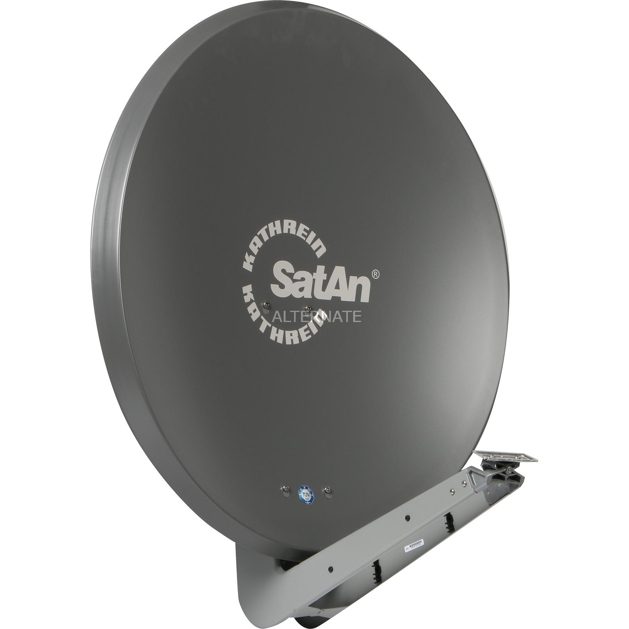 CAS 90gr antena de satélite Grafito, Antena parabólica