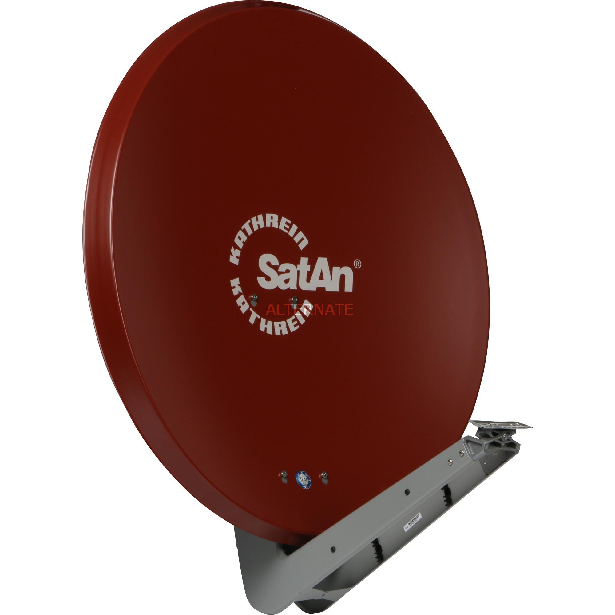 CAS 90ro antena de satélite Marrón, Rojo, Antena parabólica