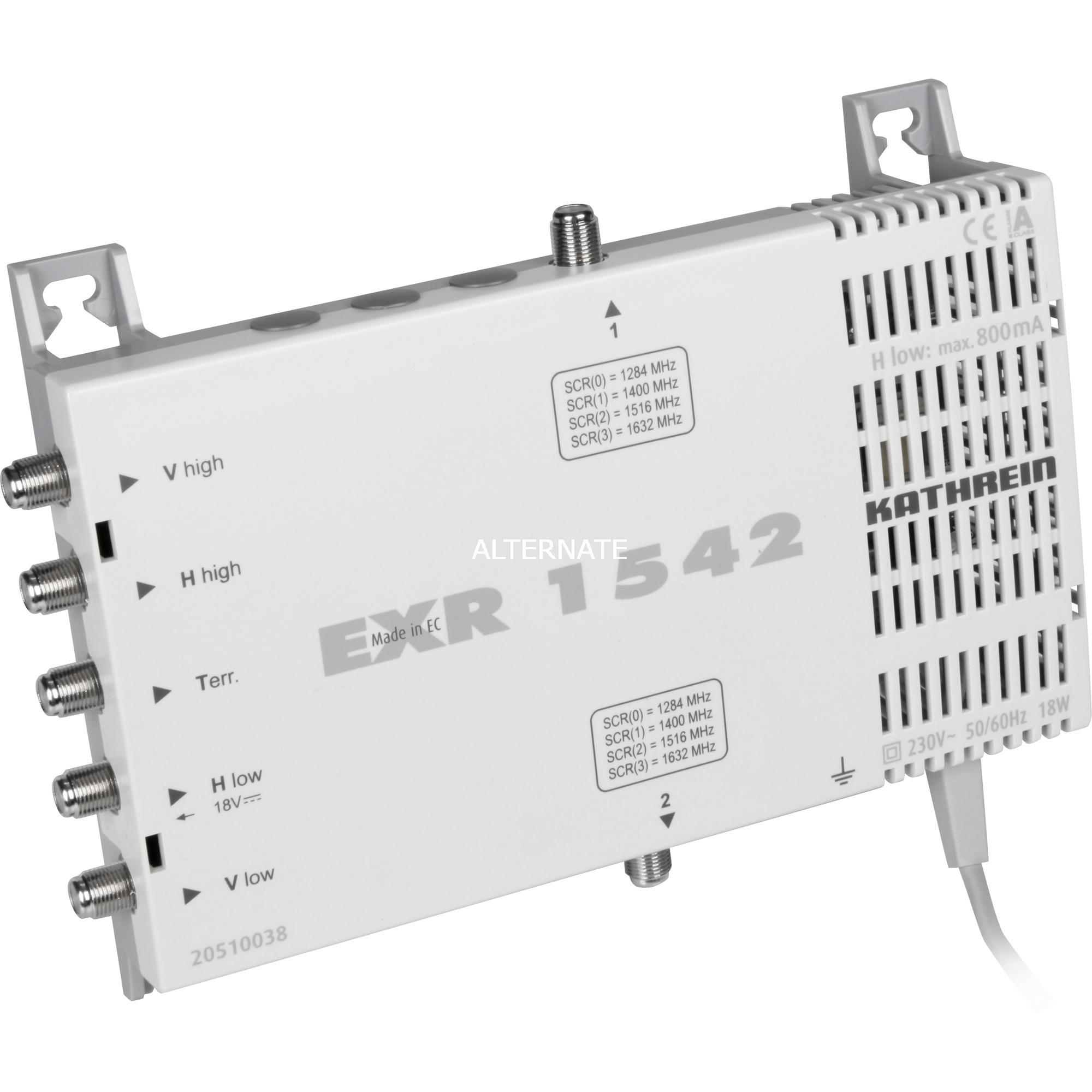 EXR 1542, Interruptor múltiple