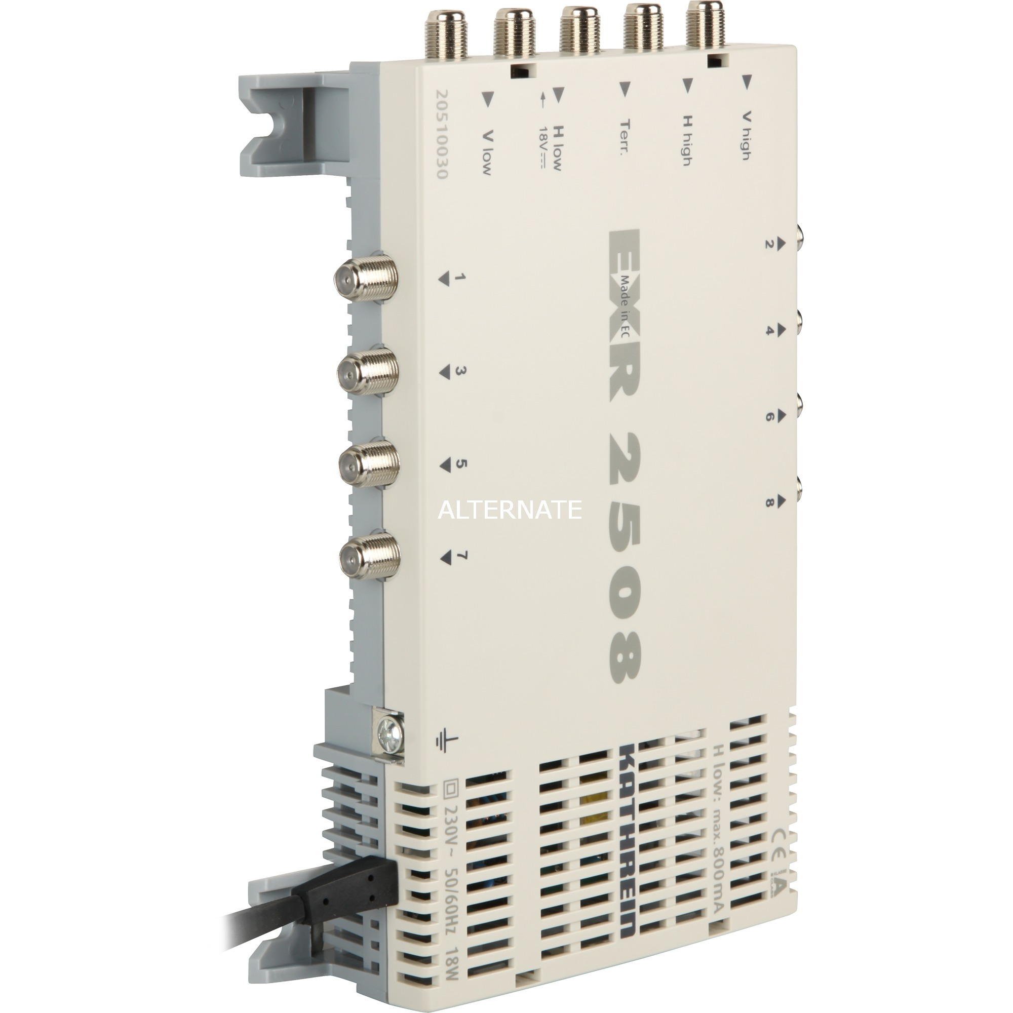 EXR 2508 tV set-top boxes Gris, Interruptor múltiple