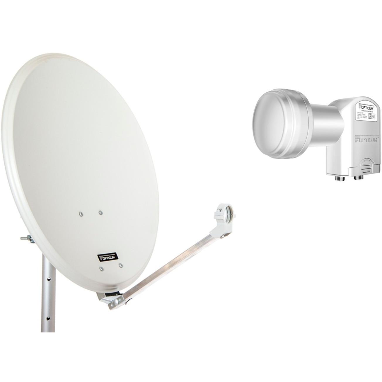 9125, Antena parabólica