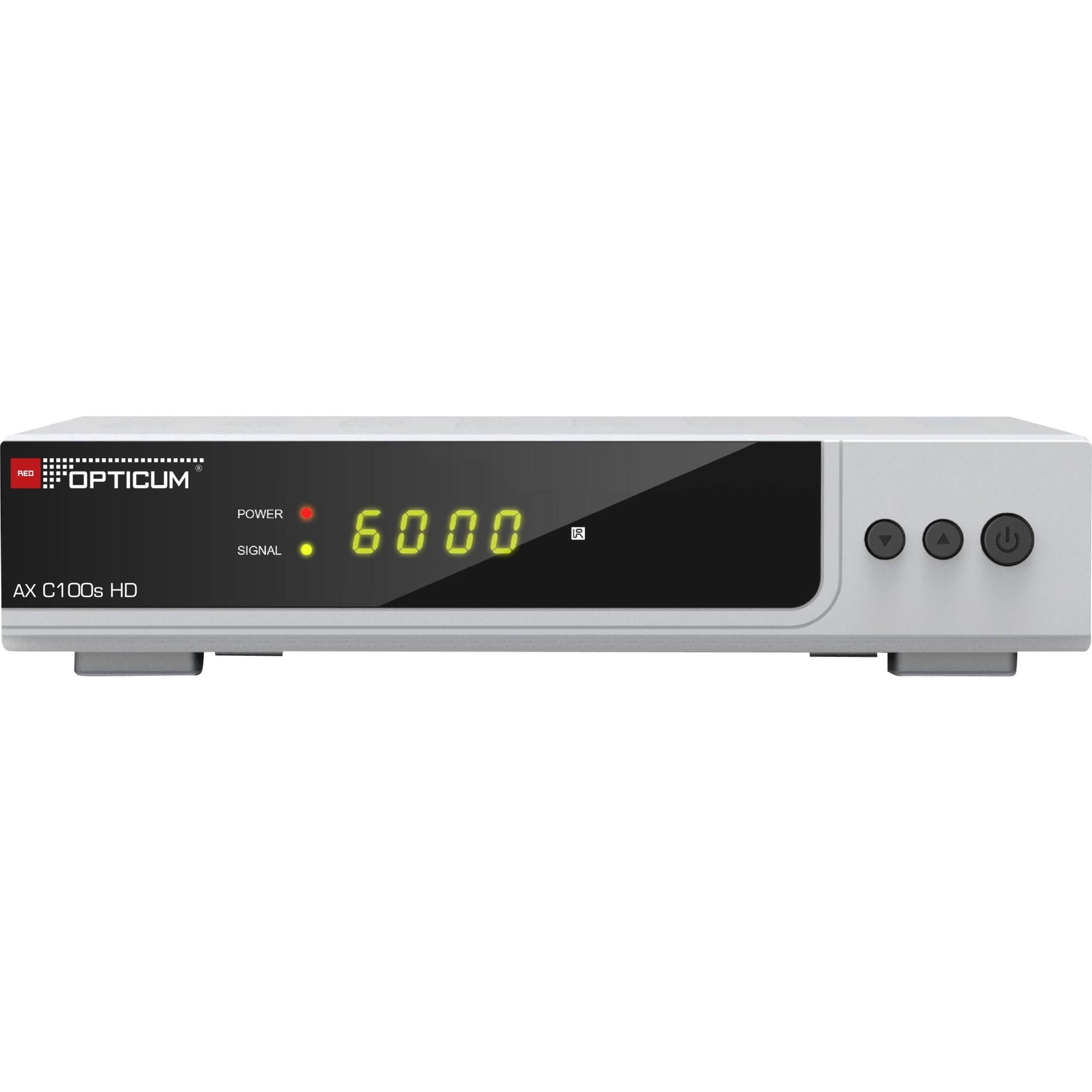 AX HD C100s tV set-top boxes Cable Alta Definición Total Plata, Receptor de cable