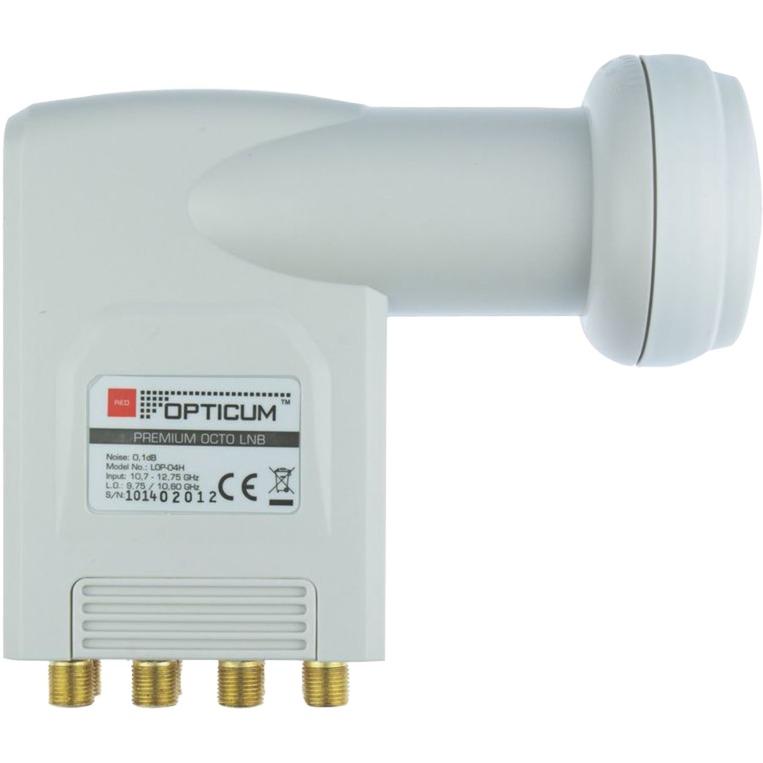 LOP 04H 10.7 - 12.75GHz Blanco convertidor low noise block (lnb)