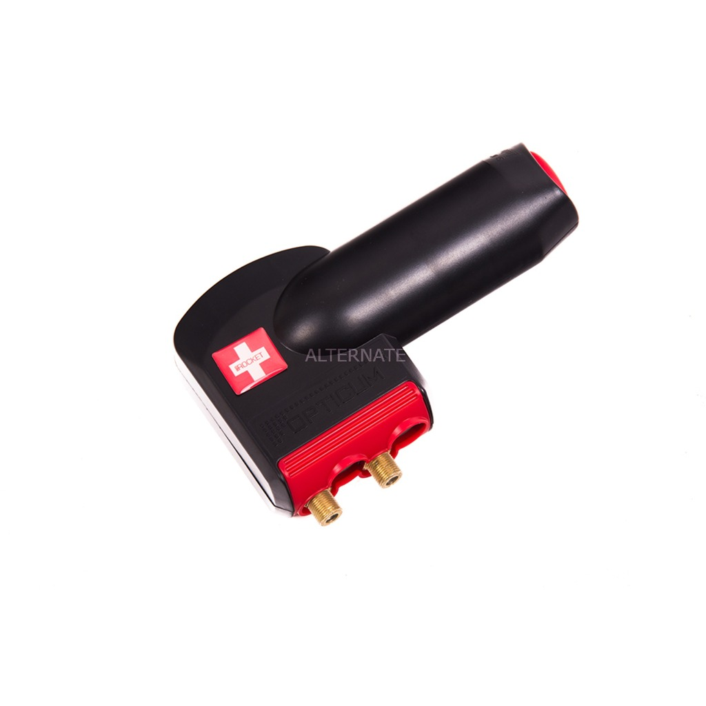 Red Rocket Twin 10.7 - 12.75GHz Negro, Rojo convertidor low noise block (lnb)