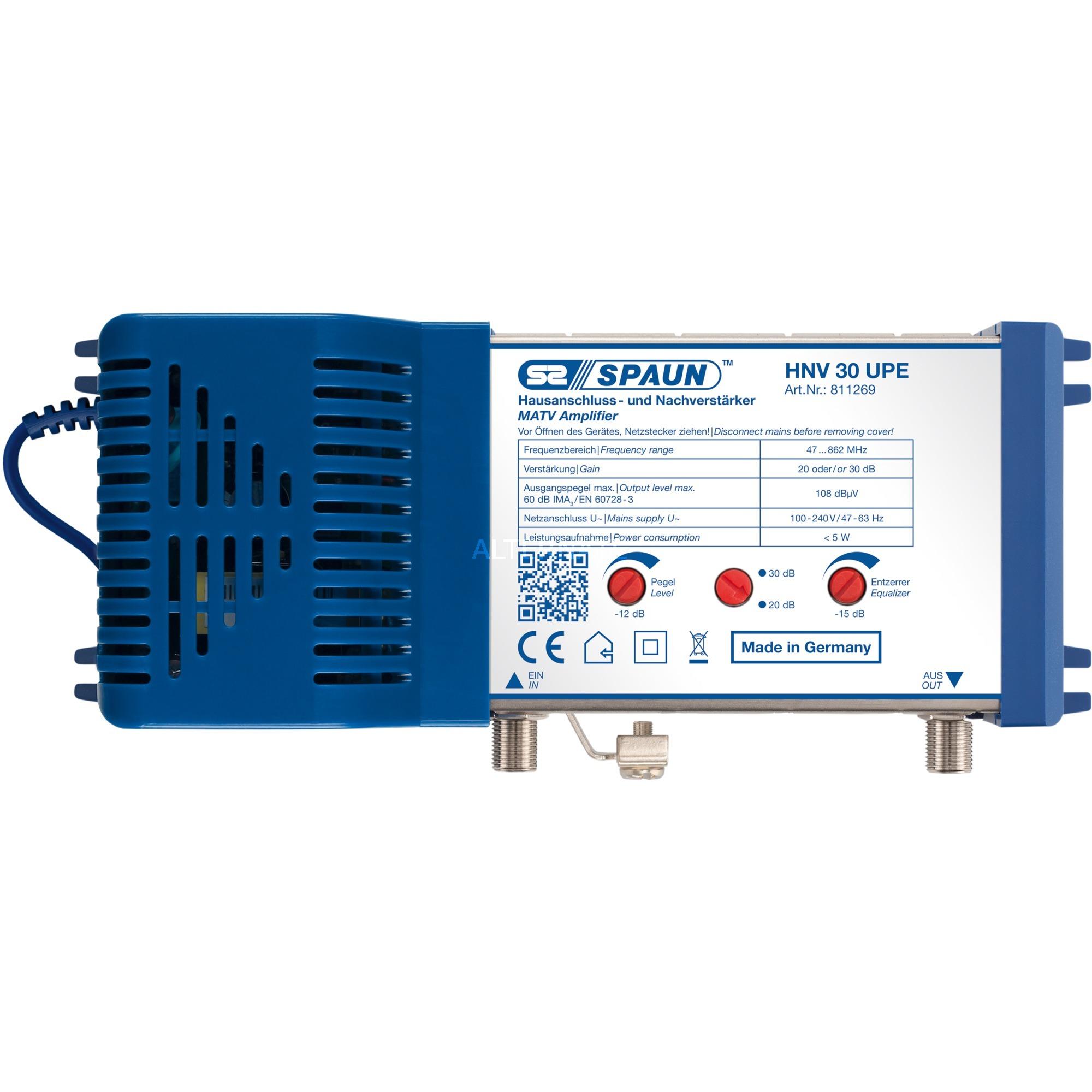 HNV 30/30 UPE amplificador señal de TV