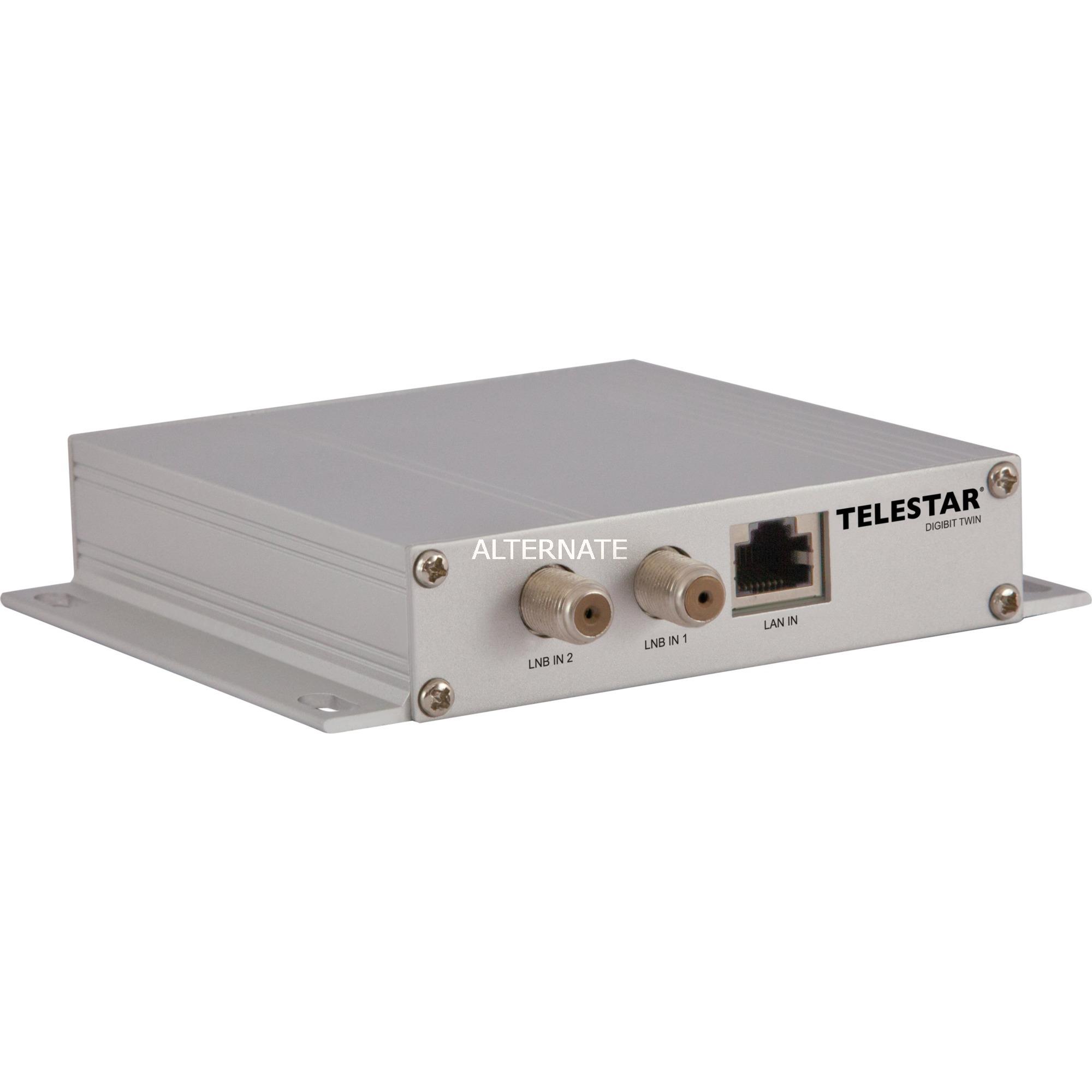 DIGIBIT Twin conmutador múltiple para satélite 1 Entradas 2 Salidas, Transmisor