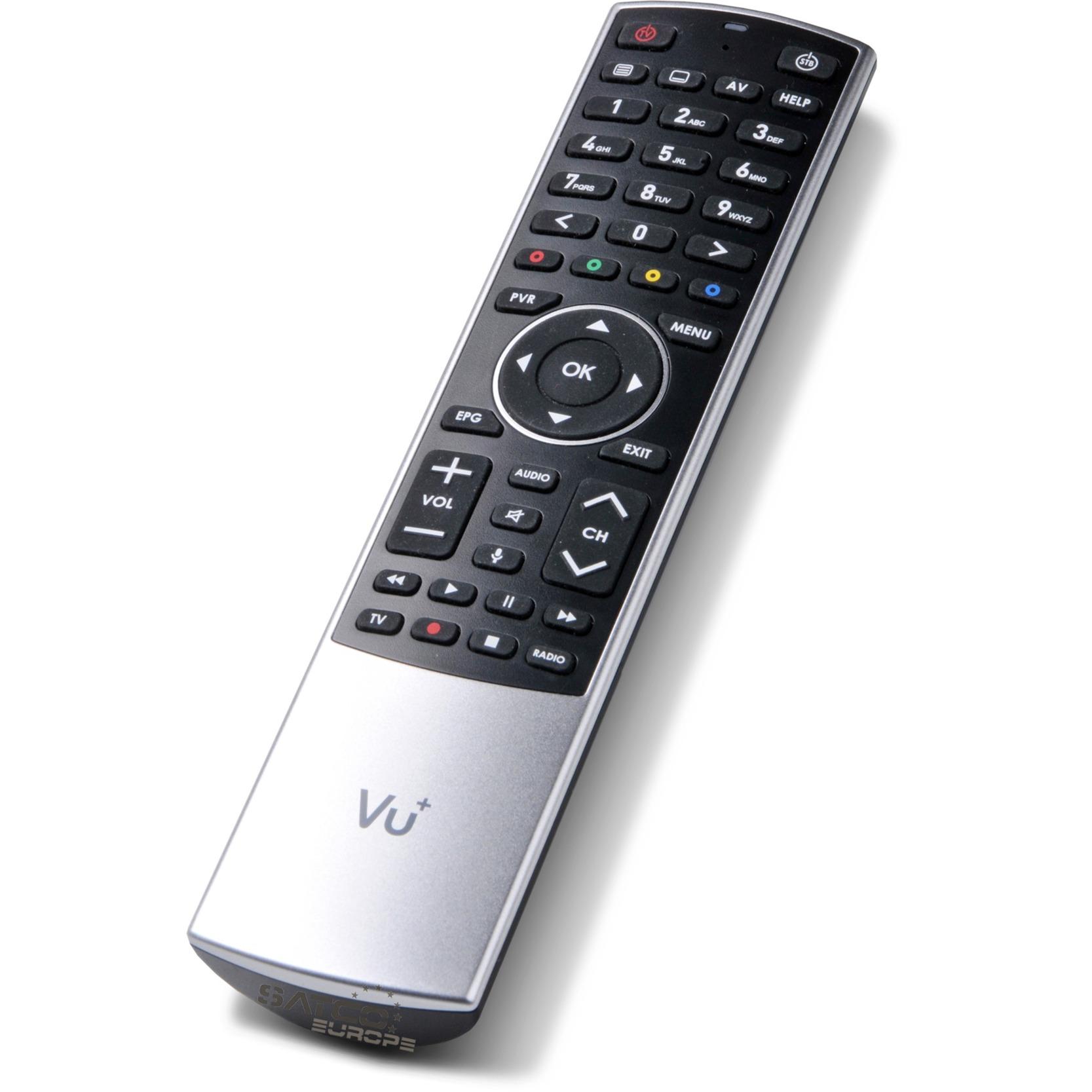 8786821 IR/Bluetooth Botones Negro, Plata mando a distancia