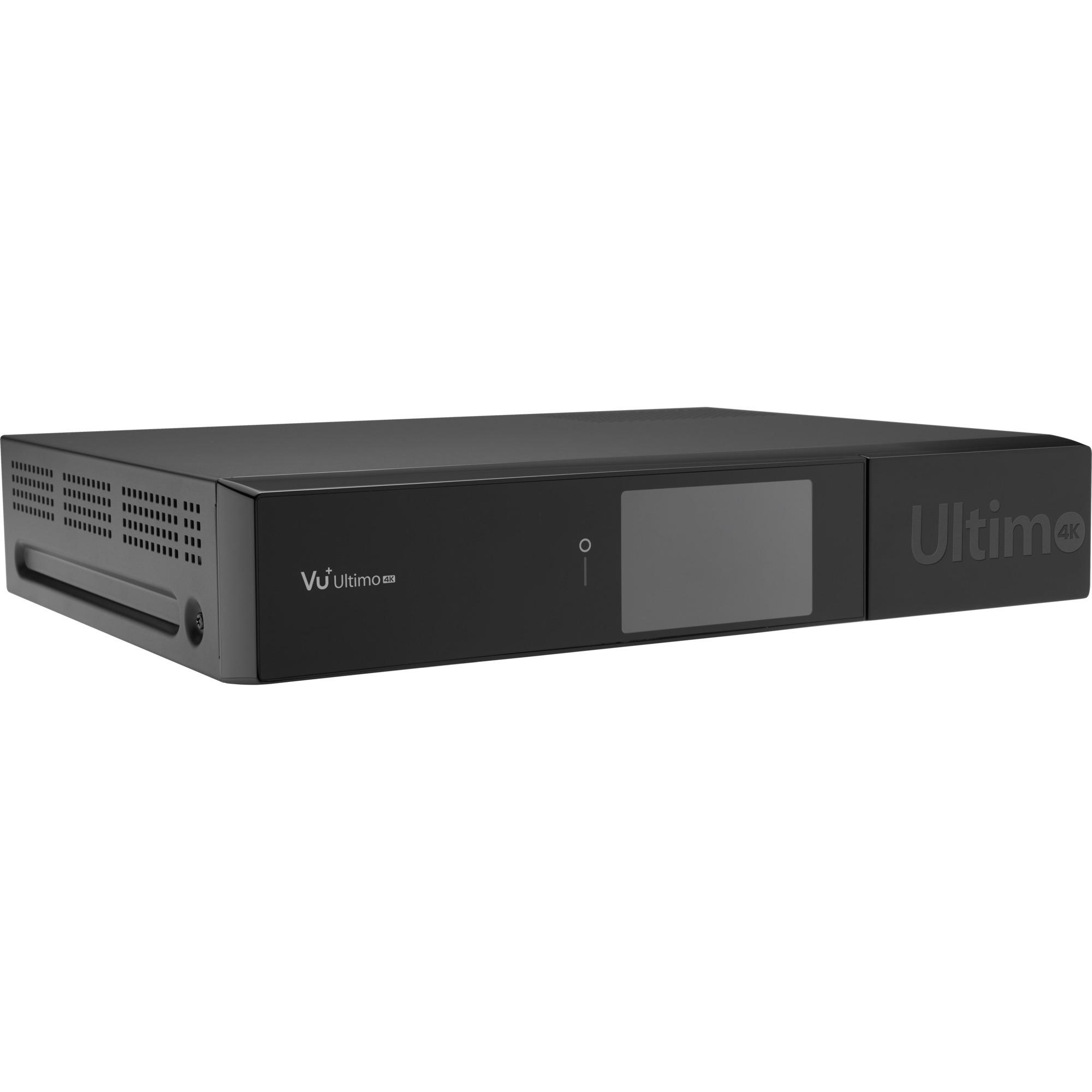 Ultimo 4K Satélite Alta Definición Total Negro tV set-top boxes, Receptor de cable