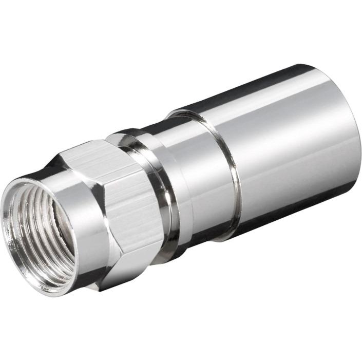 67239 conector F M Acero inoxidable, Cable