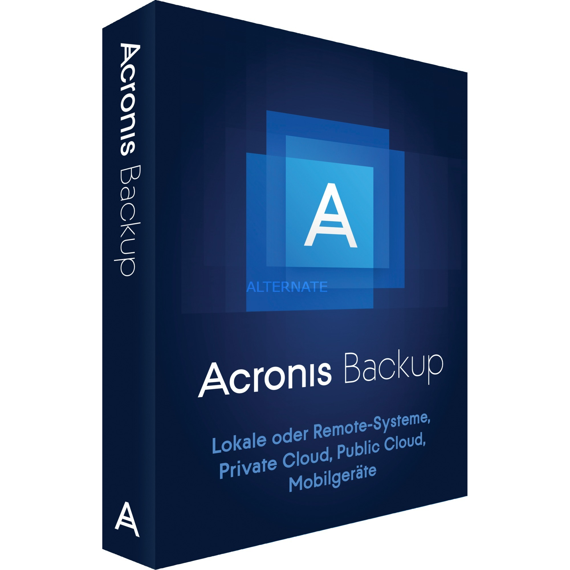 Backup 12.0, Software