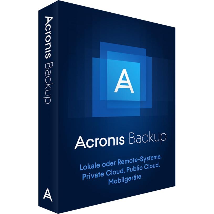 Backup 12.5, Software