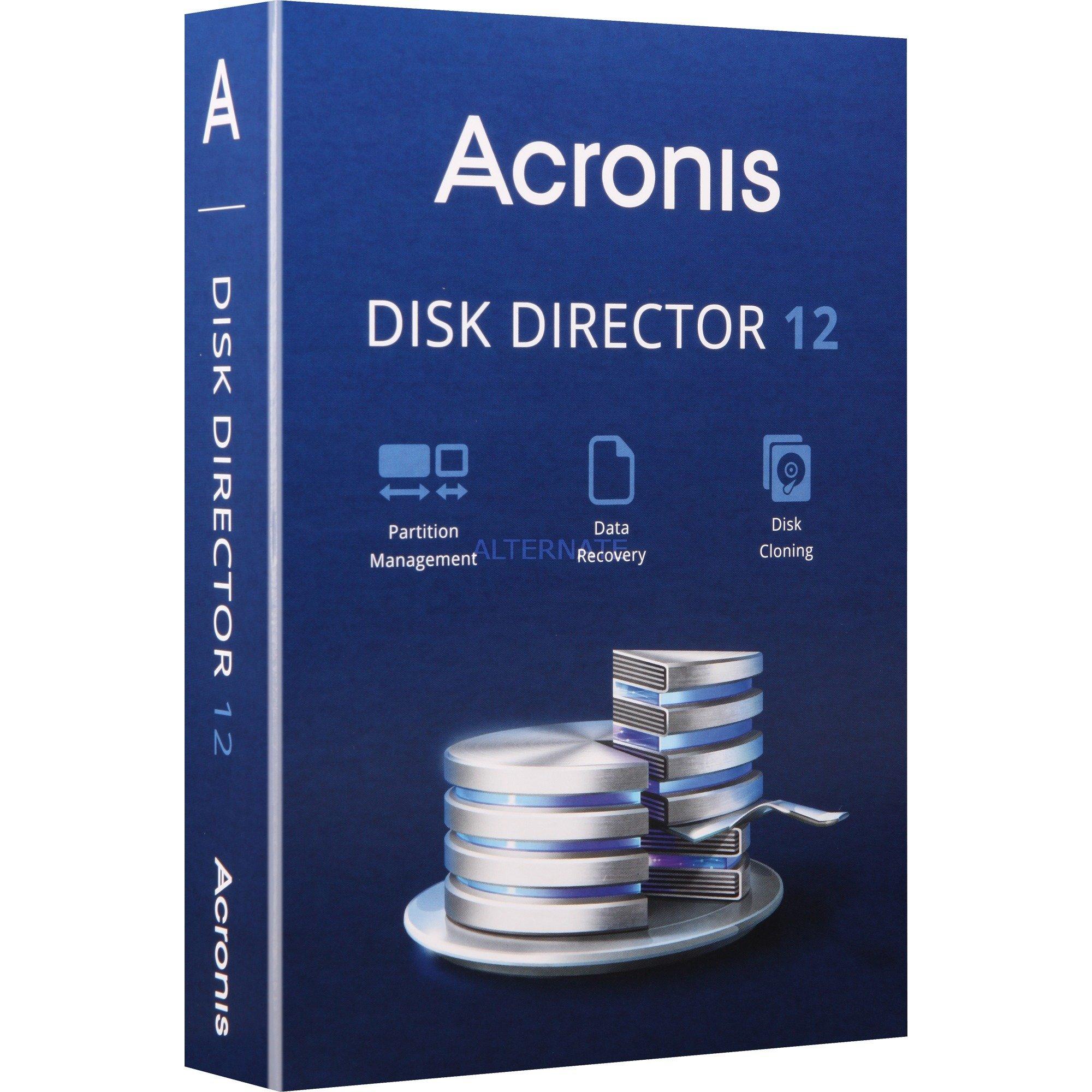 Disk Director 12.0, Software