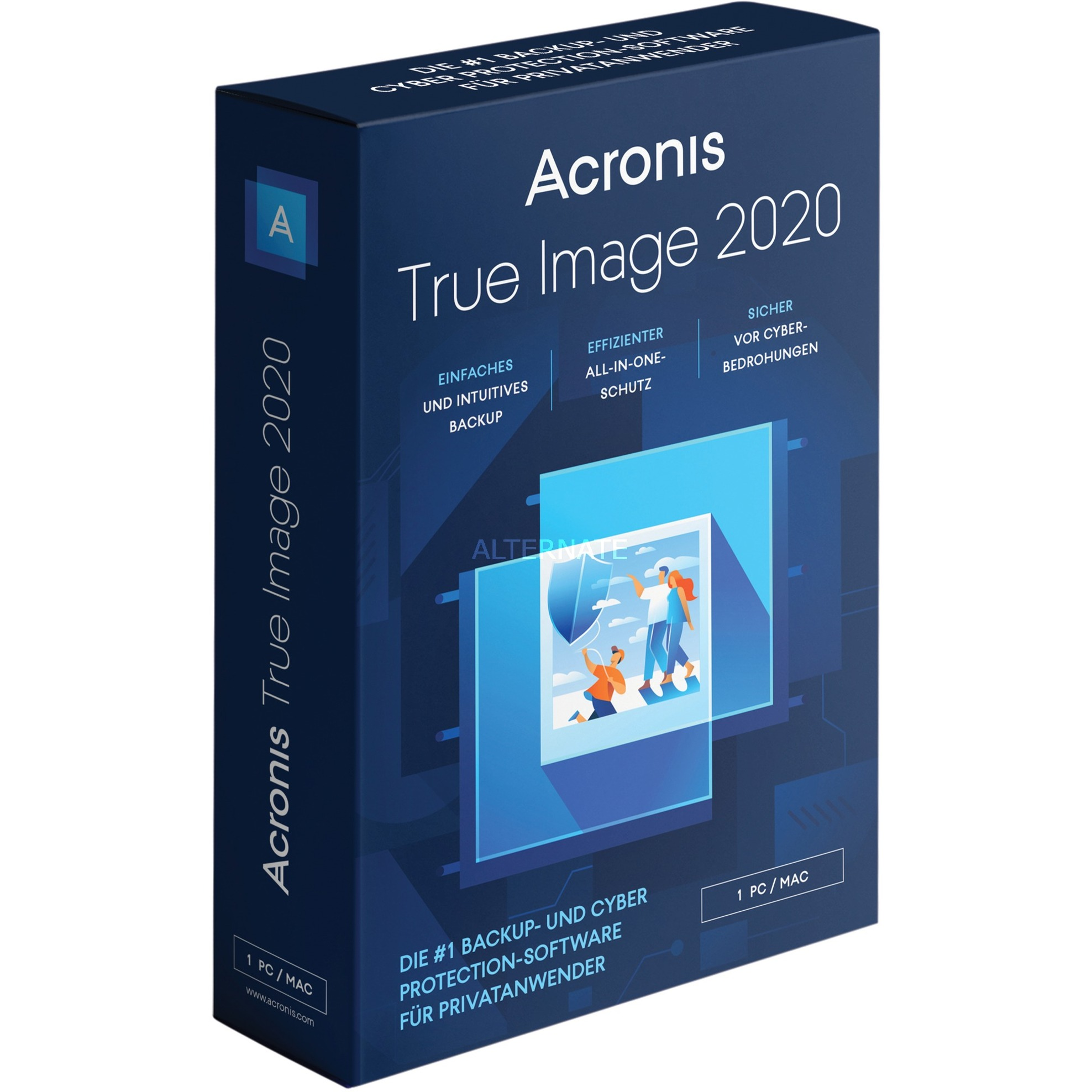 True Image 2020, Software