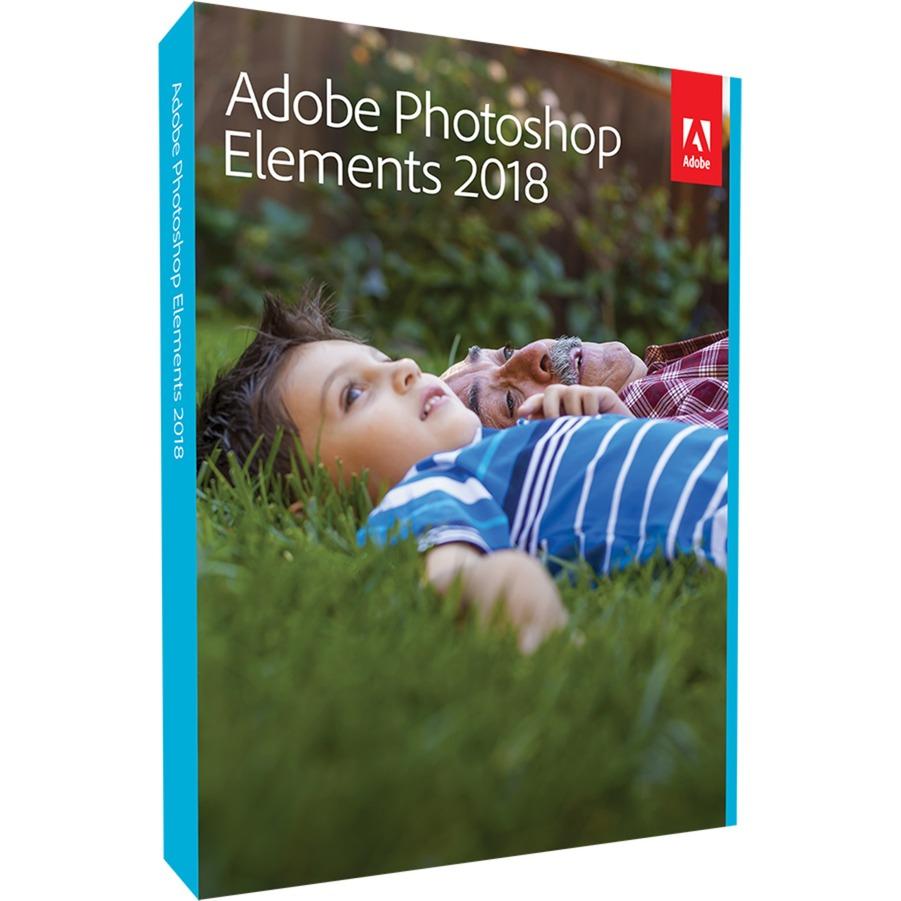 Photoshop Elements 2018, Software