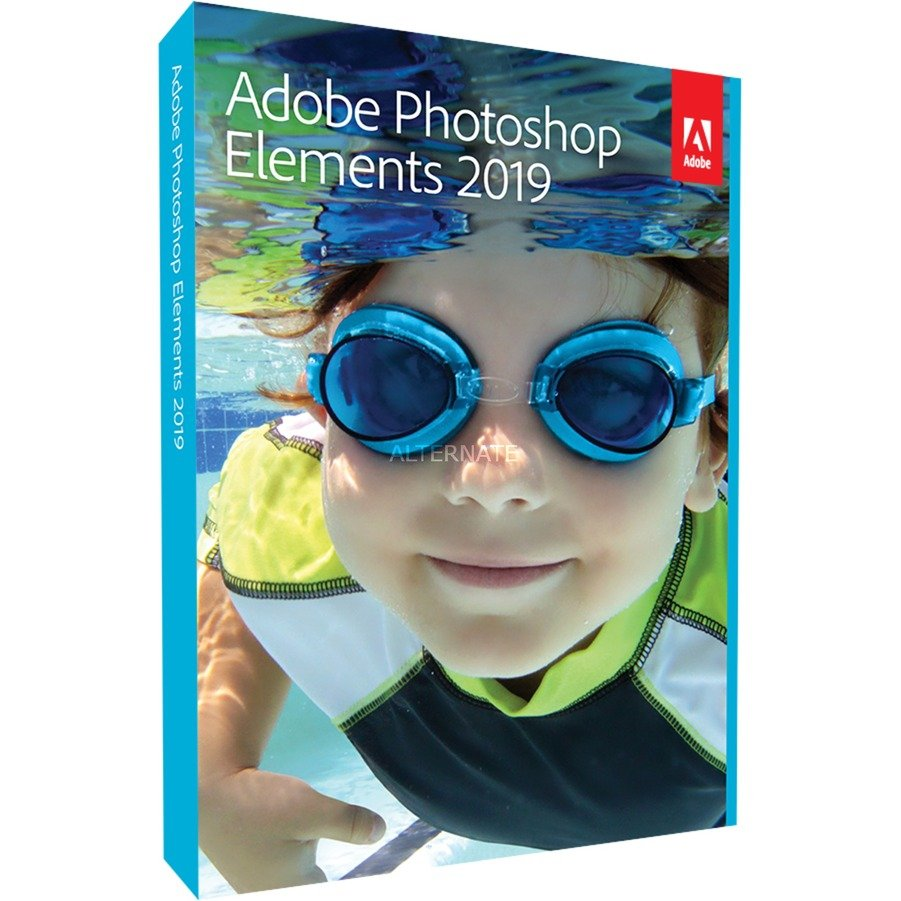 Photoshop Elements 2019, Software