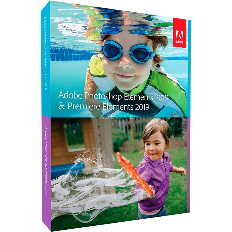 Photoshop Elements 2019 & Premiere Elements 2019, Software