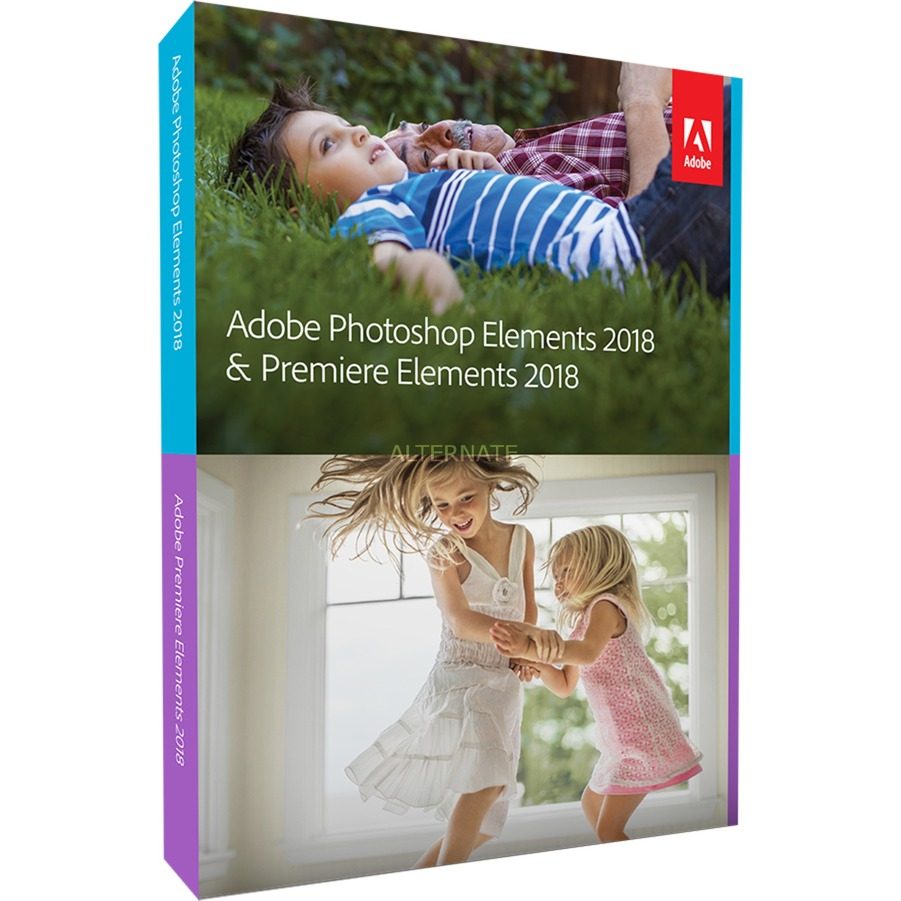 Photoshop Elements + Premiere Elements 2018 1licencia(s) Inglés, Software