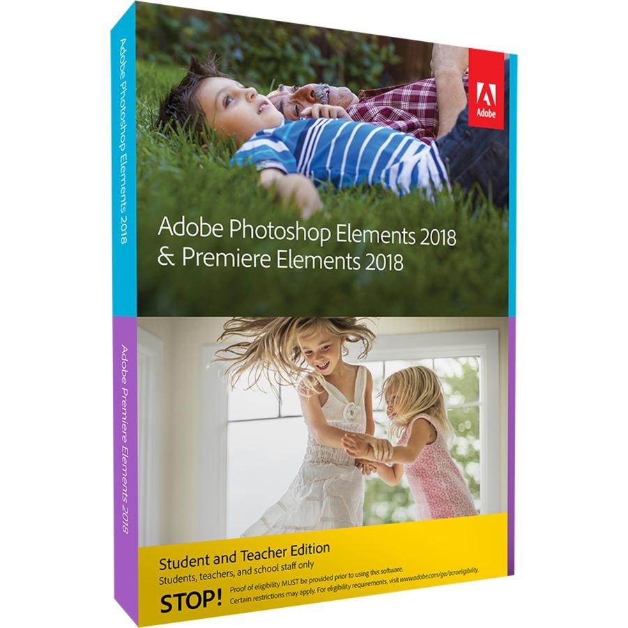 Photoshop Elements & Premiere Elements 2018, Software
