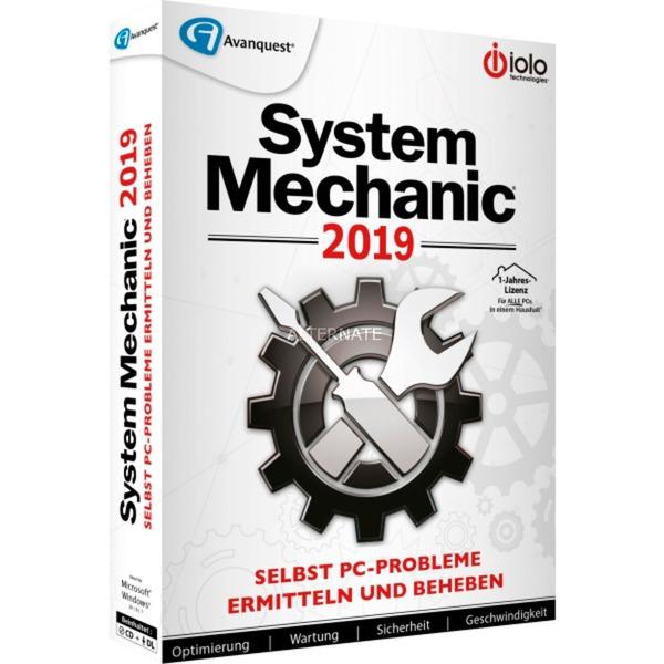 System Mechanic 2019, Software