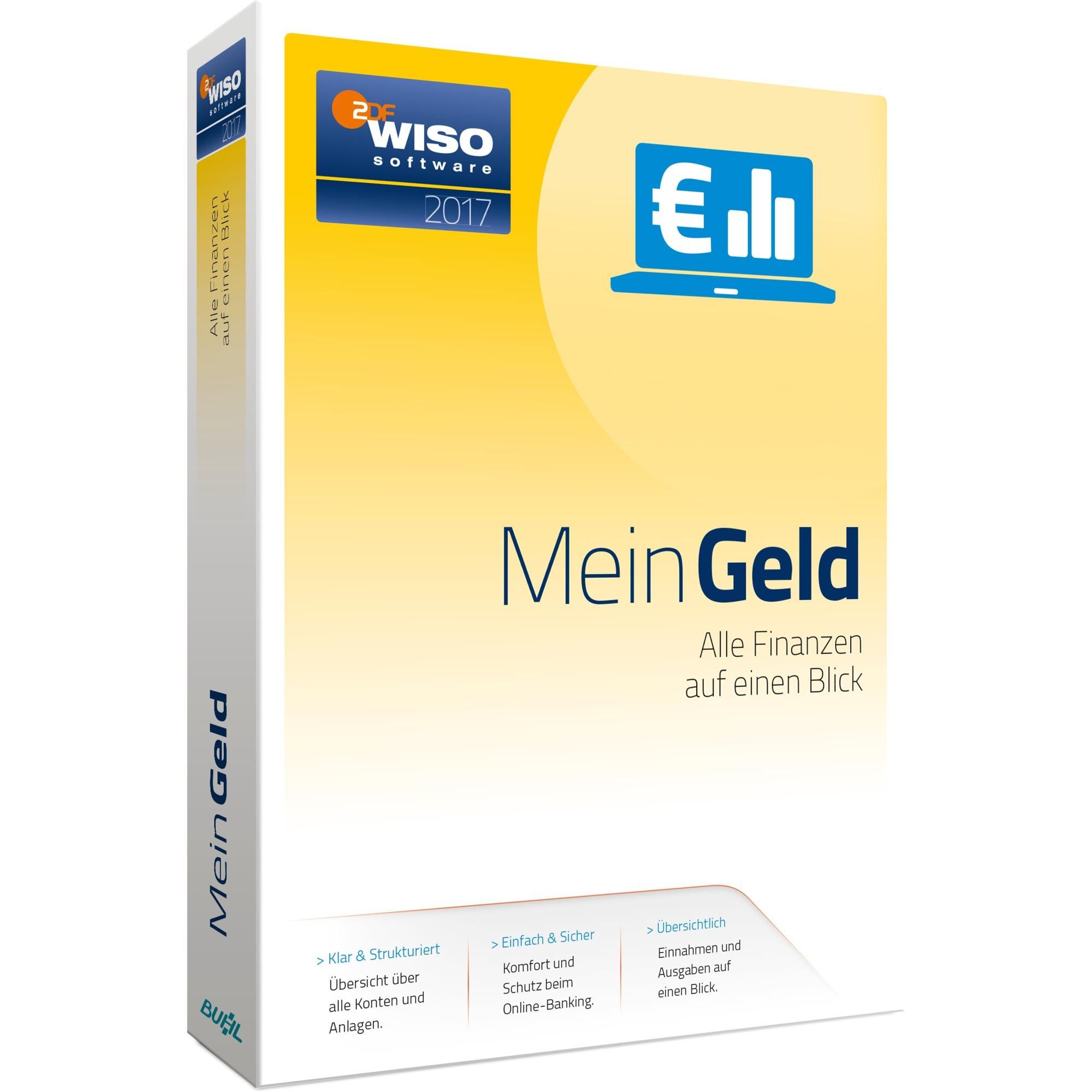 WISO Mein Geld 2017, Software
