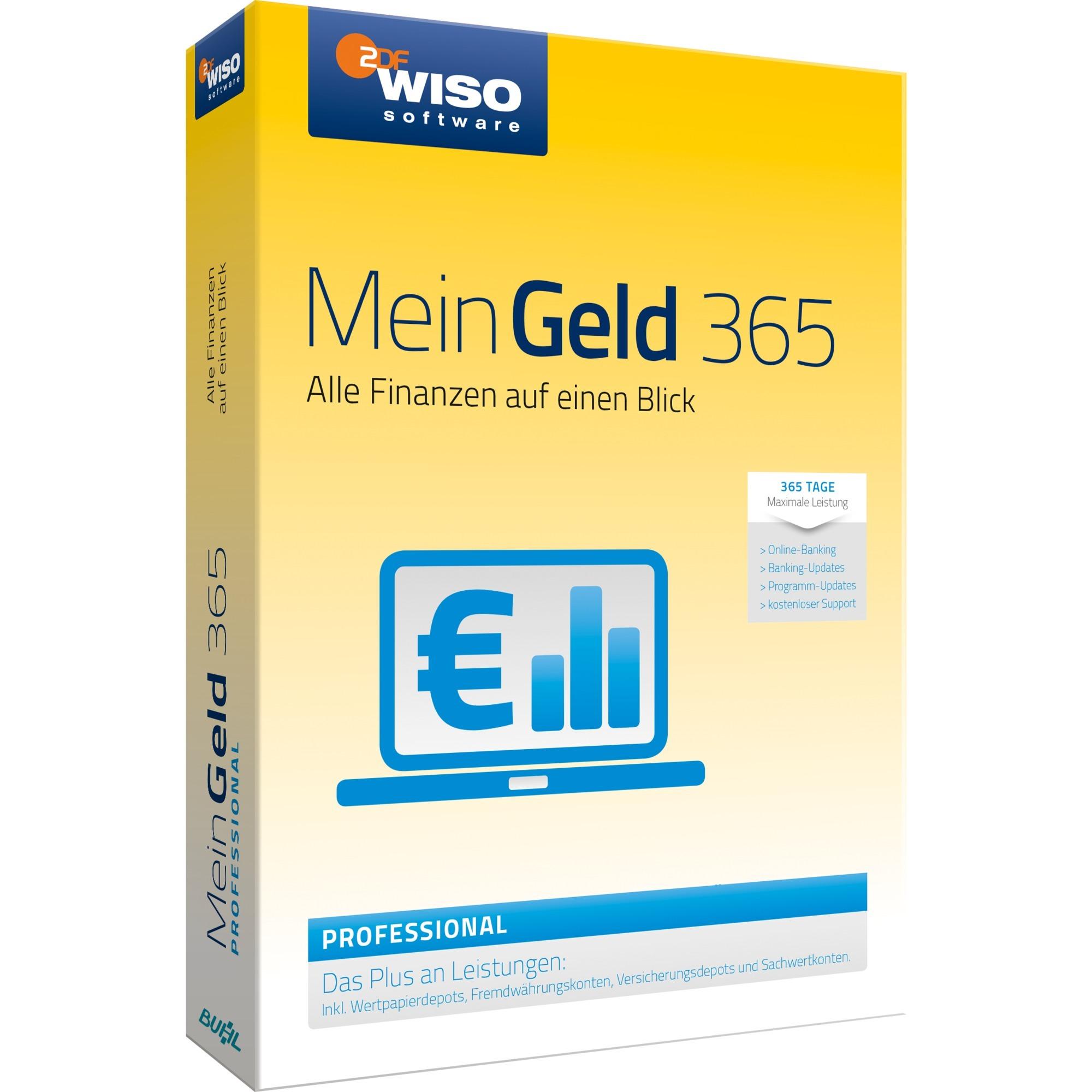 WISO Mein Geld 365 Pro, Software