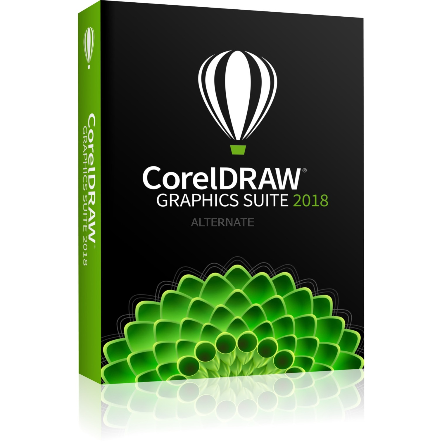 CorelDRAW Graphics Suite 2018, Software