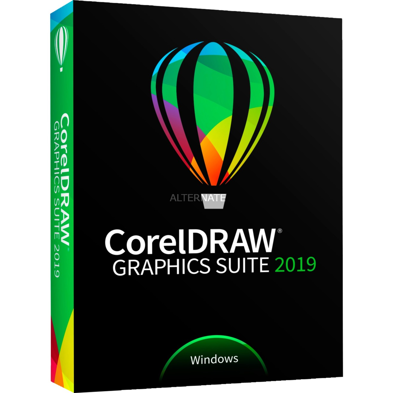 CorelDRAW Graphics Suite 2019, Software