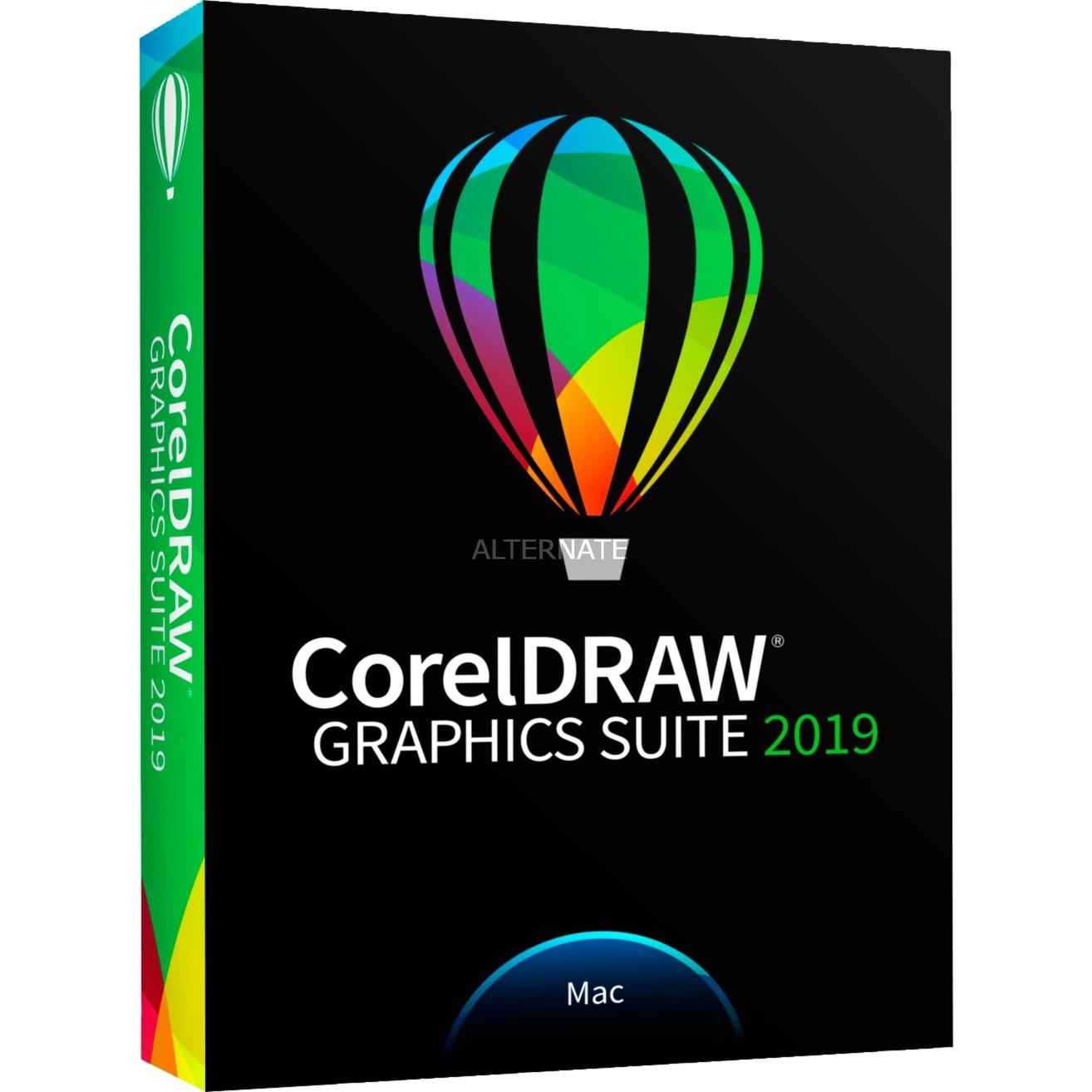 CorelDRAW Graphics Suite 2019, Software